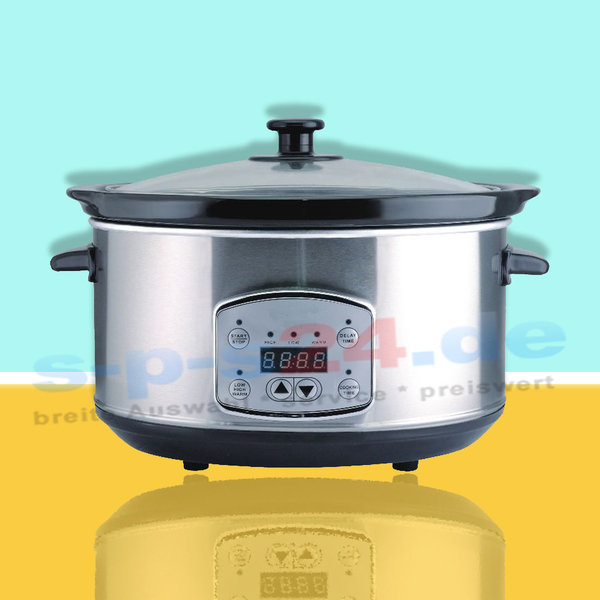 Digitaler Slow Cooker Schongarer 3,5 Liter | 200 watt