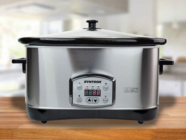 Slowcooker Schongarer digital 7,5 Liter mit Warmhaltefunktion | 320 watt